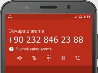 0232 846 23 88 numarası dolandırıcı mı? spam mı? hangi firmaya ait? 0232 846 23 88 numarası hakkında yorumlar