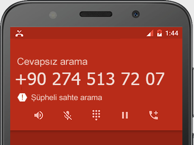0274 513 72 07 numarası dolandırıcı mı? spam mı? hangi firmaya ait? 0274 513 72 07 numarası hakkında yorumlar