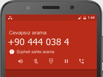 0444 038 4  numarası dolandırıcı mı? spam mı? hangi firmaya ait? 0444 038 4  numarası hakkında yorumlar