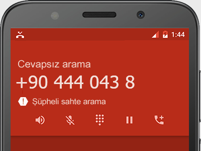 0444 043 8  numarası dolandırıcı mı? spam mı? hangi firmaya ait? 0444 043 8  numarası hakkında yorumlar
