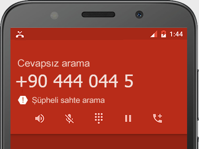 0444 044 5  numarası dolandırıcı mı? spam mı? hangi firmaya ait? 0444 044 5  numarası hakkında yorumlar