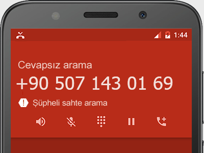 0507 143 01 69 numarası dolandırıcı mı? spam mı? hangi firmaya ait? 0507 143 01 69 numarası hakkında yorumlar