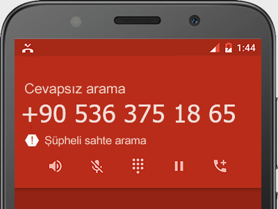 0536 375 18 65 numarası dolandırıcı mı? spam mı? hangi firmaya ait? 0536 375 18 65 numarası hakkında yorumlar