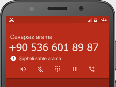 0536 601 89 87 numarası dolandırıcı mı? spam mı? hangi firmaya ait? 0536 601 89 87 numarası hakkında yorumlar