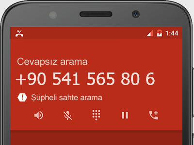 0541 565 80 6 numarası dolandırıcı mı? spam mı? hangi firmaya ait? 0541 565 80 6 numarası hakkında yorumlar