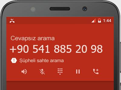 0541 885 20 98 numarası dolandırıcı mı? spam mı? hangi firmaya ait? 0541 885 20 98 numarası hakkında yorumlar